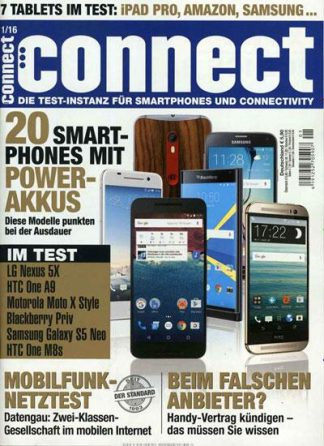 Titelblatt Connect