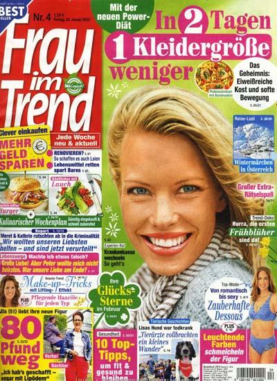 Titelblatt Frau im Trend