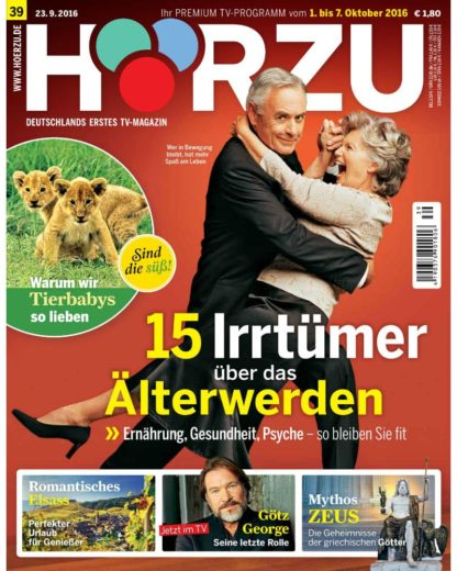 Titelblatt Hörzu