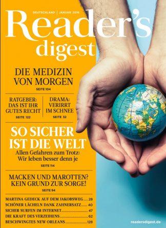 Titelblatt Reader´s Digest
