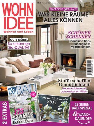 Titelblatt WohnIdee