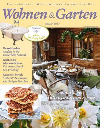 Titelblatt Wohnen & Garten