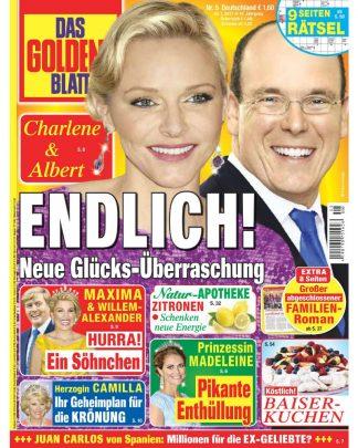 Titelblatt Das goldenen Blatt