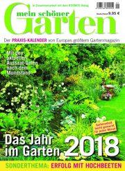 Titelblatt Mein schöner Garten Kalender 2018