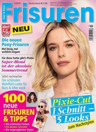 Titelblatt Welt der Frau Frisuren