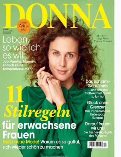 Titelblatt Donna